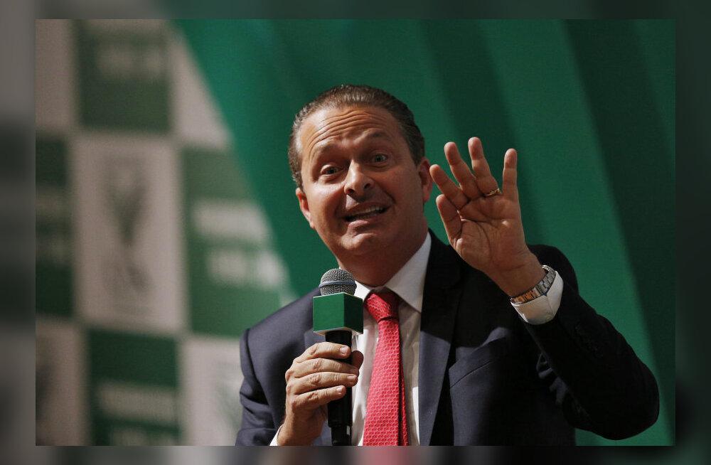 VIDEO: Brasiilia presidendikandidaat hukkus lennuõnnetuses