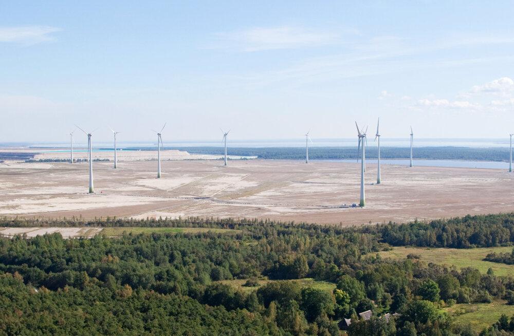 Enefit Taastuvenergia tuuleparkide toodang kasvas veerandi võrra