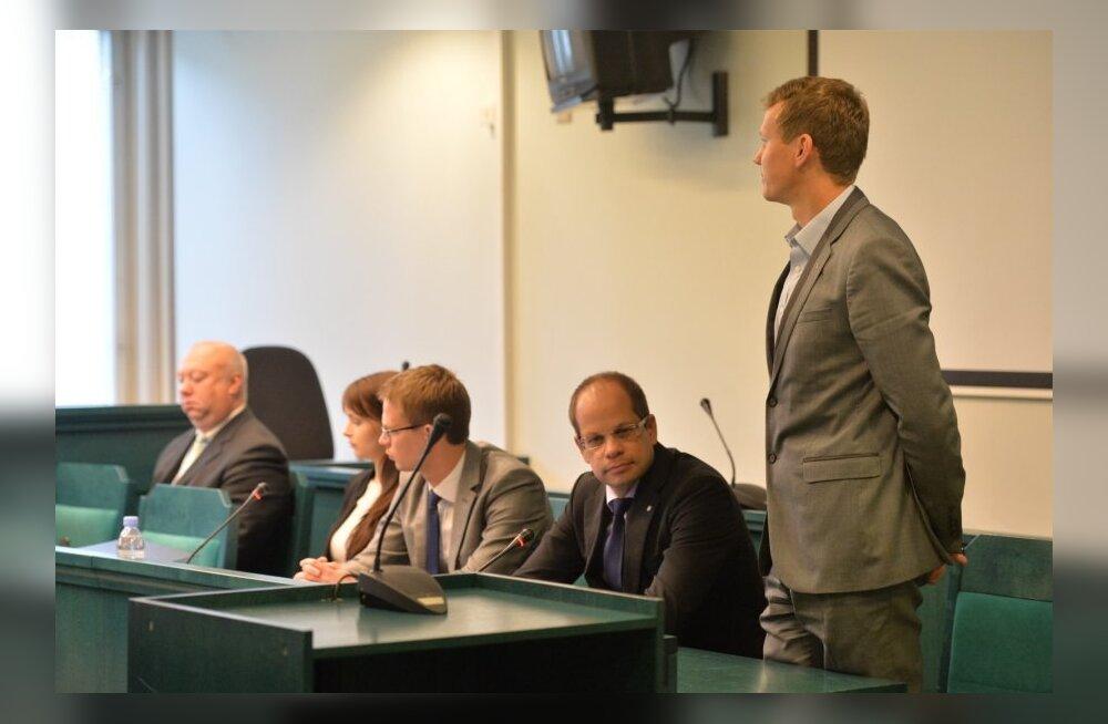 Riigikogu liikmete Toobali ja Laasi kohtusaaga algas absurdselt: advokaat unustas kutsuda istungile võtmeisiku