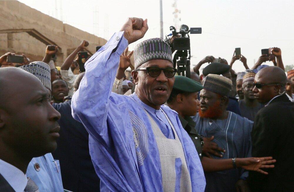 Muhammadu Buhari valiti tagasi Aafrika rahvaarvult suurima riigi Nigeeria presidendiks
