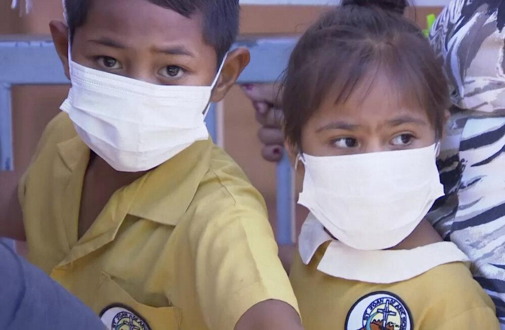 Samoa kuulutas leetrite tõttu välja eriolukorra ja sulges kõik koolid