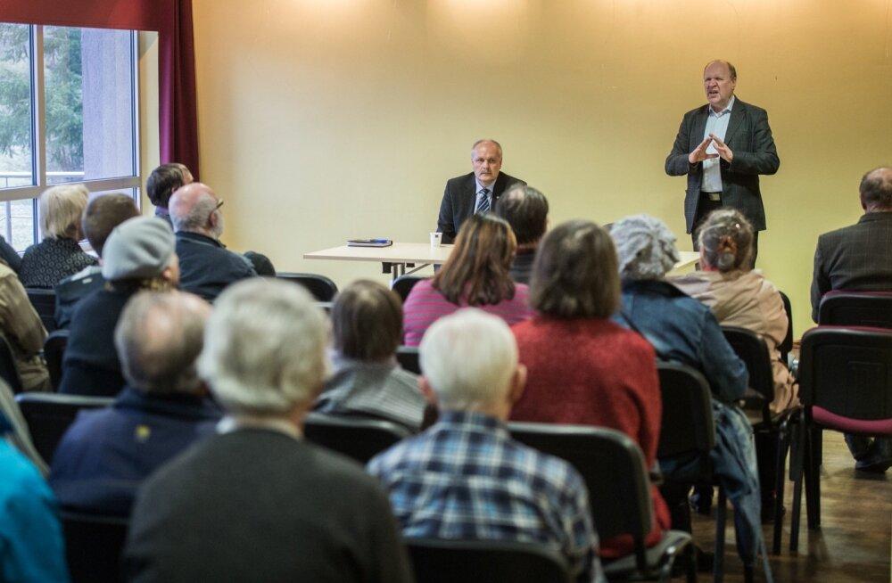 EKRE Kahekõne rahvaga Kilingi-Nõmmel
