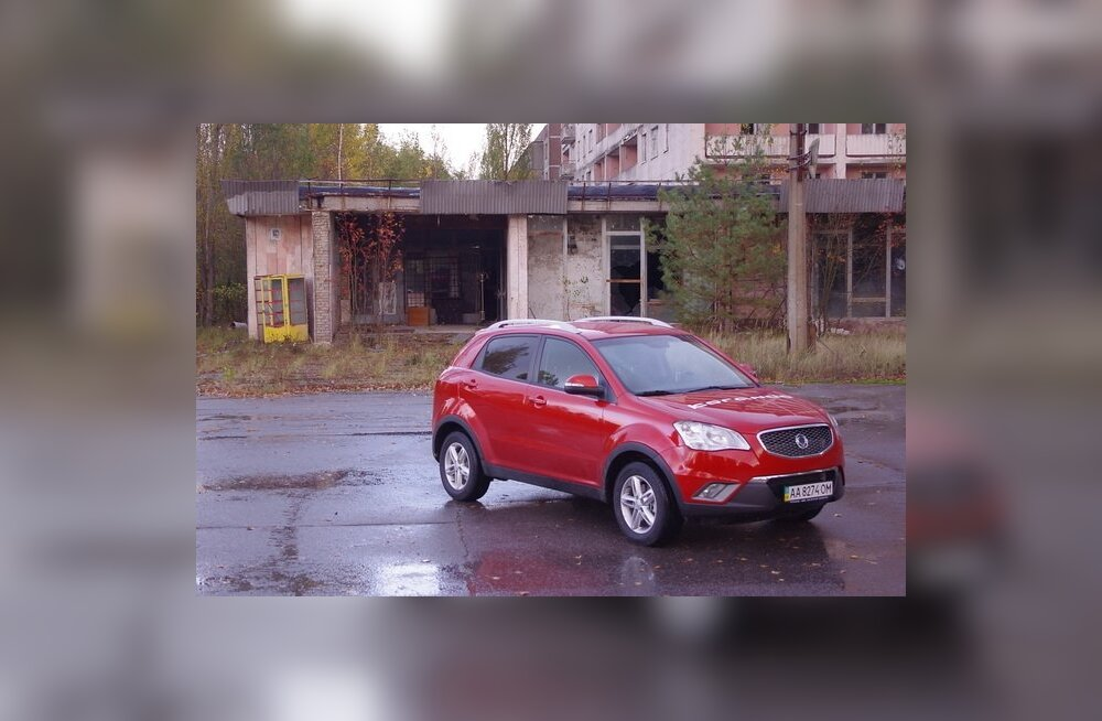 Proovisõit: SsangYong Korando - kadunud autoga kummituslinnas