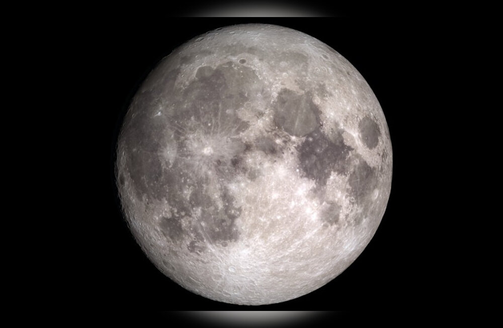Kuu pinnas olev vesi vahetab pidevalt asukohta