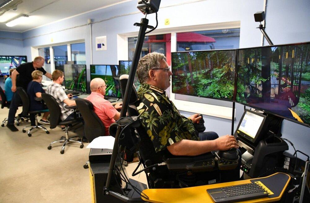 Metsamasinajuhtide õpe on olnud pidevas arengus ja nii jääb see ka edaspidi, sest tulevik nõuab tarkade masinate taha tarku juhte.