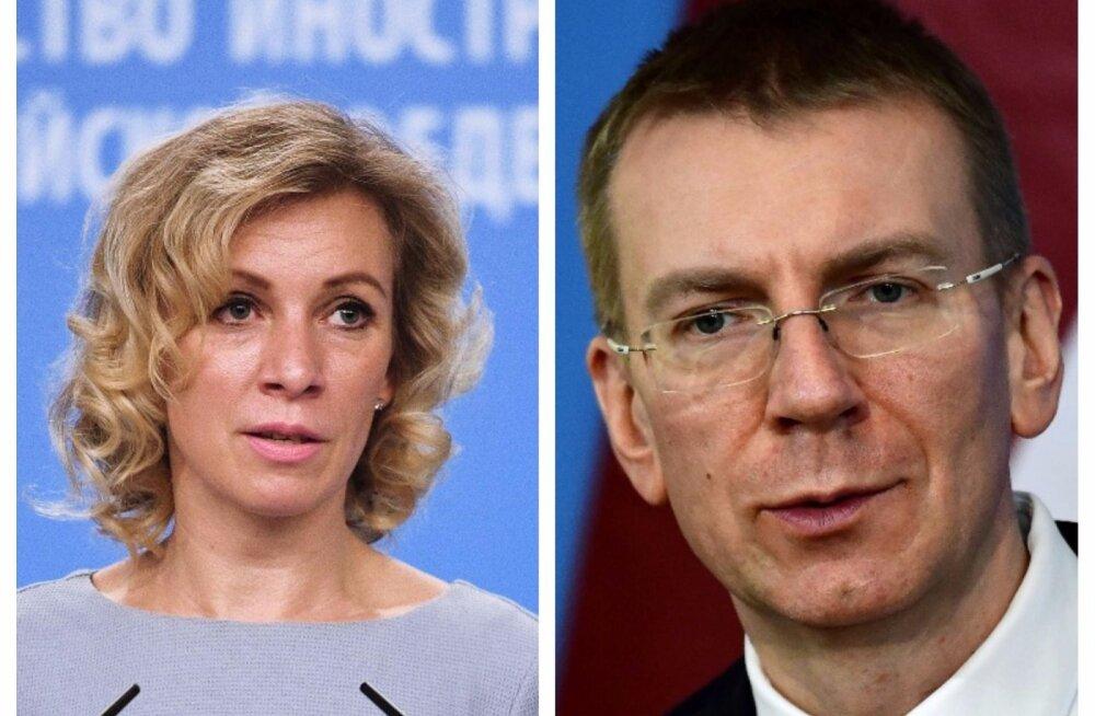 Vene välisministeeriumi esindaja Kataloonia asjus süüdistamisest: Läti välisminister on valeuudiste agregaator
