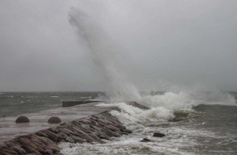 Läänemere piirkond on Euroopas üks enim tormisest piirkonnast.