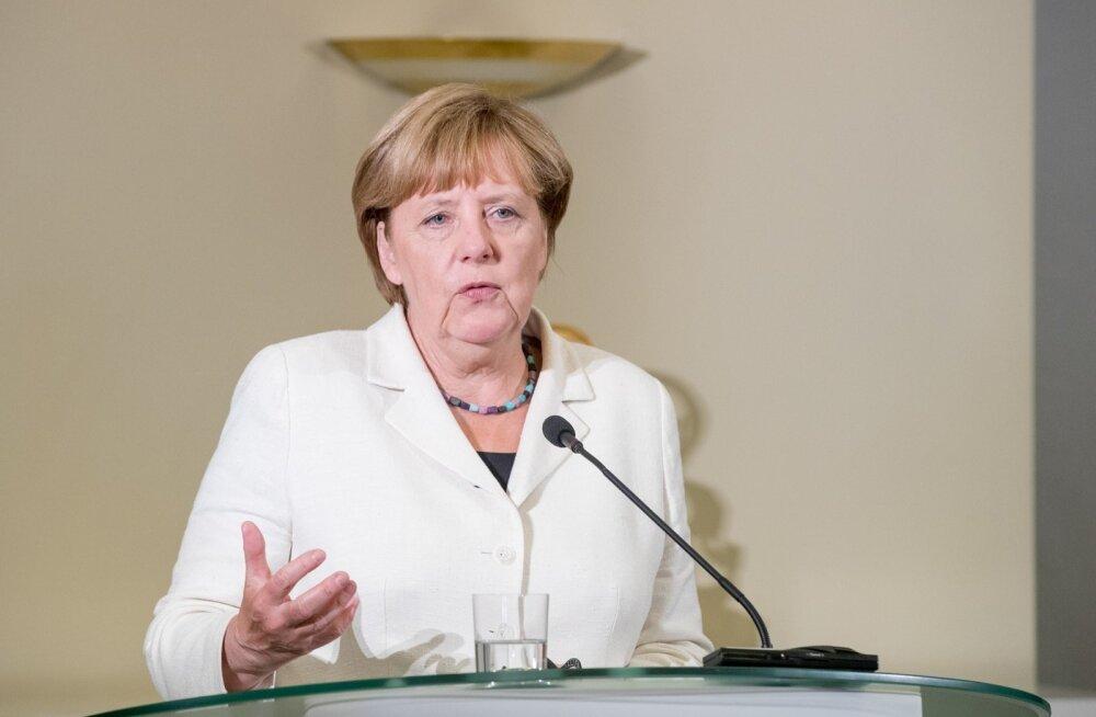 Angela Merkeli ja Taavi Rõivase ühine pressikonverents