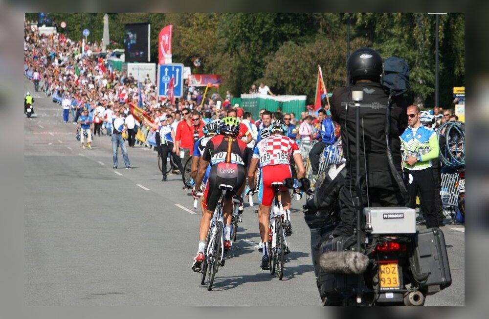 Grupisõit jalgratta MMil
