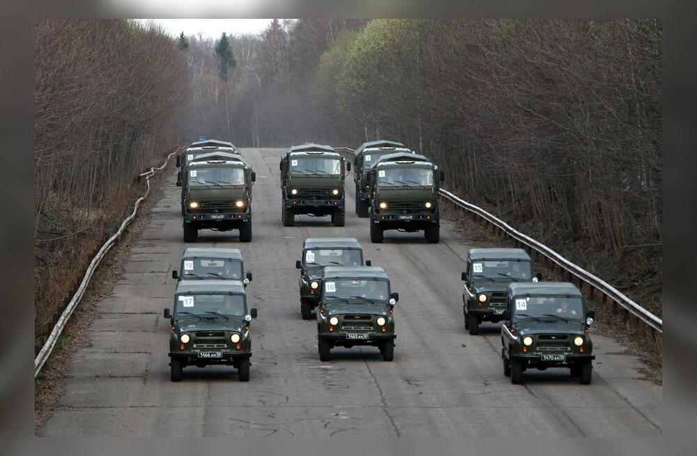 Moskva on juba 3/4 ulatuses jõudnud läänepiiri vägede masinapargi ära uuendada