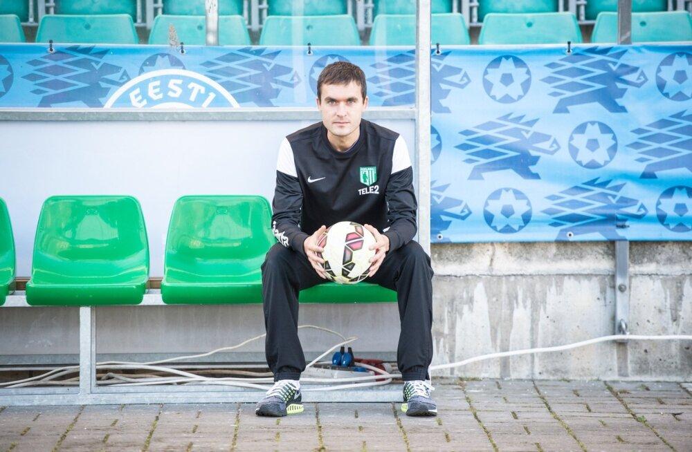 FC Flora peatreener Norbert Hurt