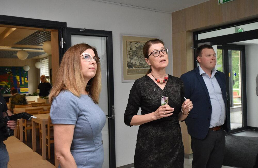 Minister Kingo näitas oma kosmoseteadmisi: kosmos aitab paika panna saagikoristusaegu