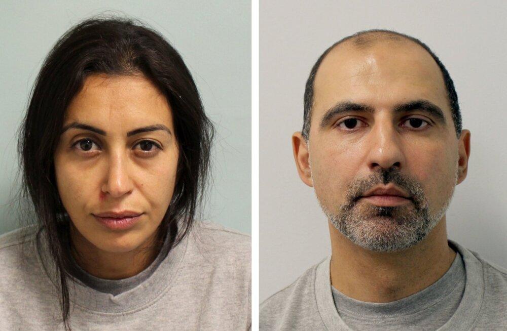 Londonis lapsehoidja mõrvanud ja hoovis surnukeha põletanud paar mõisteti eluks ajaks vangi