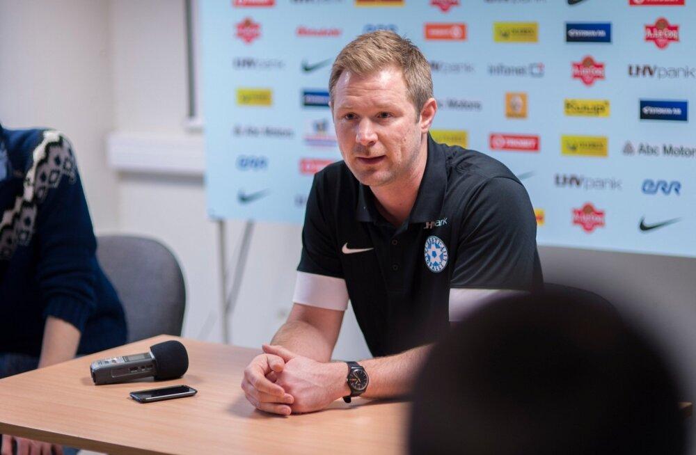 """Magnus Pehrsson nimetas Eesti liiga viimase aasta arengut """"päris suureks""""."""
