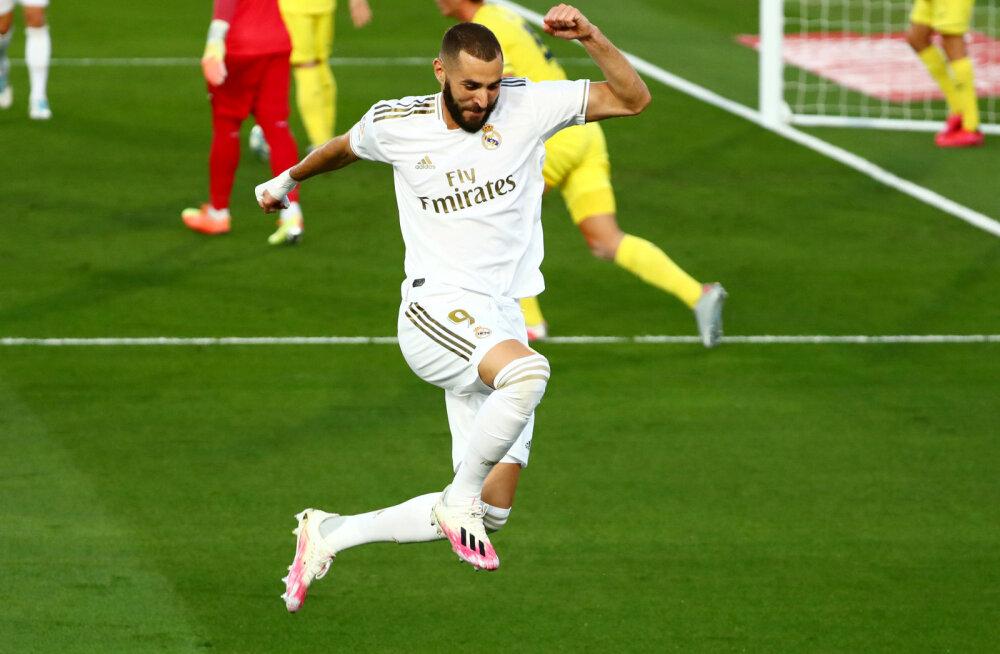 Reali president: maailma parimaks jalgpalluriks tuleks valida Karim Benzema