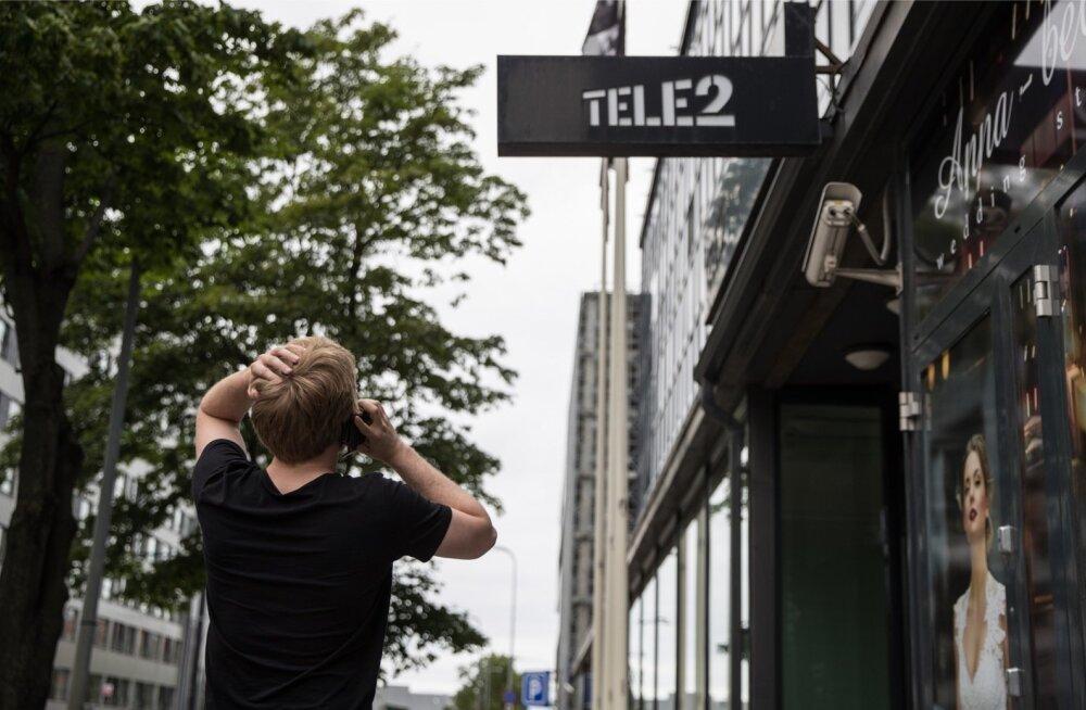 Sellel ja eelmisel aastal on kõige enam kliente konkurentidele kaotanud Tele2.