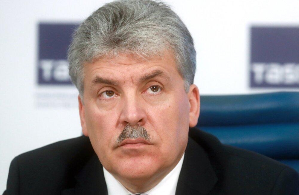 Vene kommunistid kaaluvad Lenini-nimelise sovhoosi direktori presidendikandidaadiks esitamist