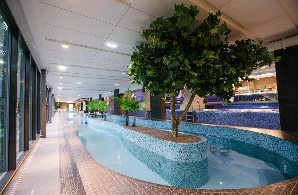 Kalev Spa vee, saunade ja trennidega möödub aeg sisukalt ning mõnusalt