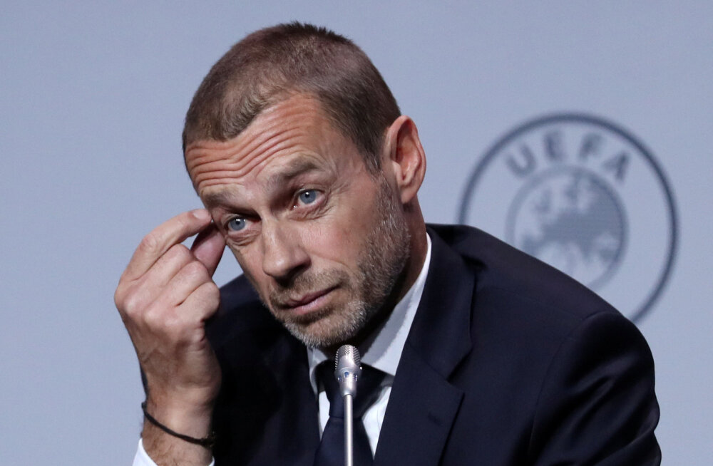 UEFA president soovitab tippliigadel valmistuda kõige mustemaks stsenaariumiks
