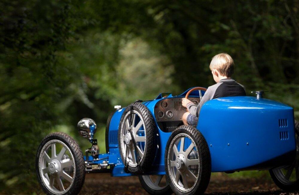 Algas elektrilise Bugatti Baby II tootmine: mõni üksik eksemplar veel saadaval