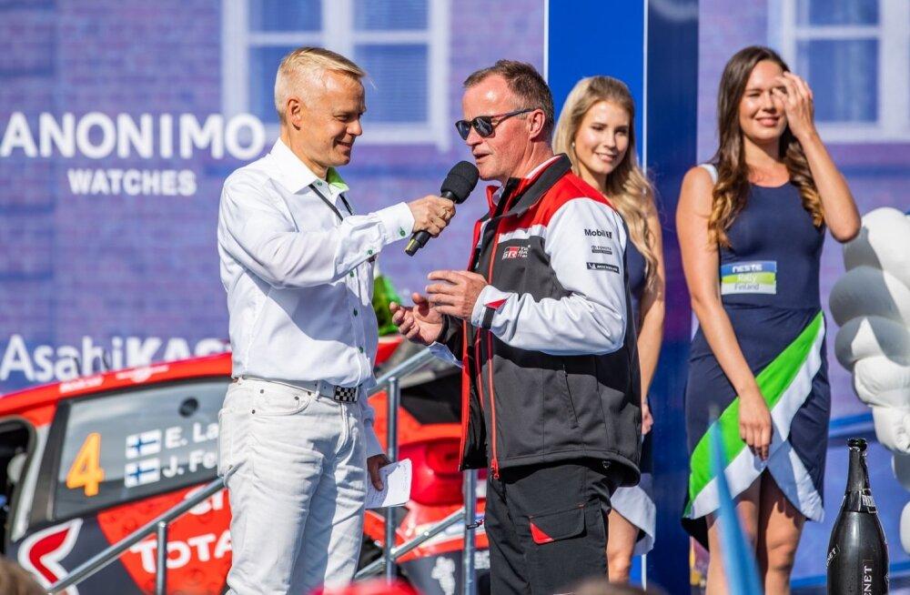 Soome MM-ralli 2019 Poodium