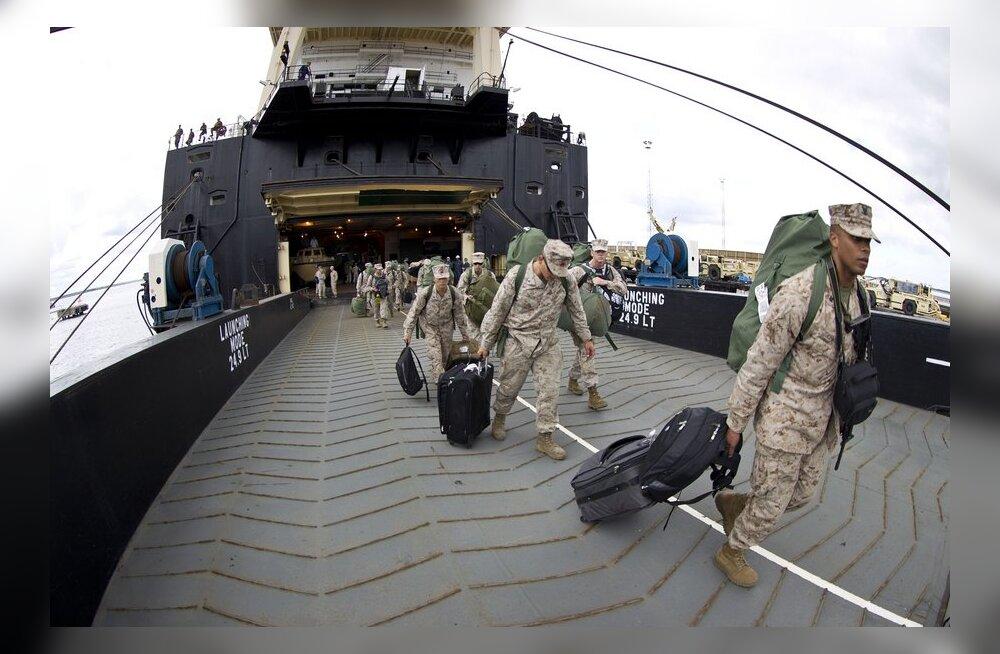 Paldiskisse saabusid USA merejalaväe üksused.