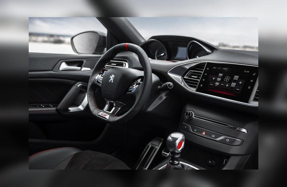 PROOVISÕIT: Peugeot 308 GTi: tegus mootor ja jõulised pidurid