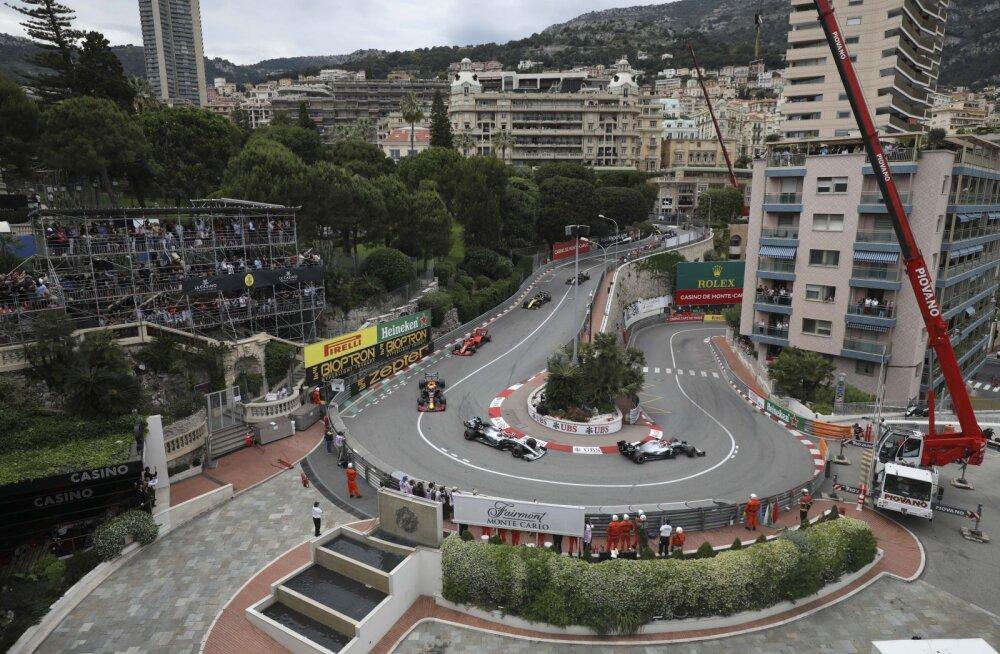 Hollandi ja Hispaania F1 etapid lükati edasi, Monaco GP jääb üldse ära
