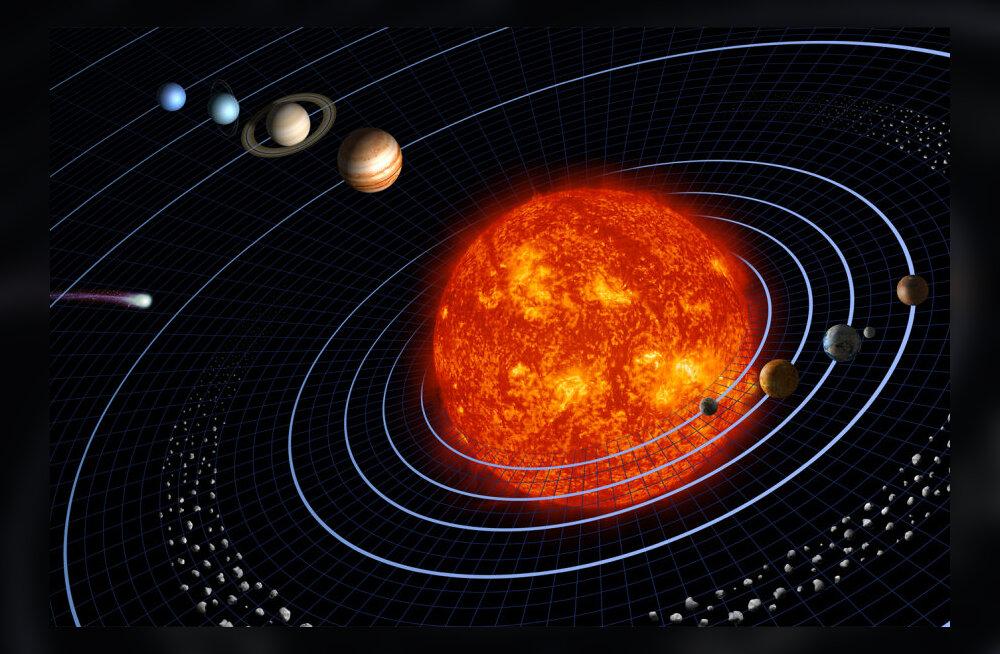 Päikesesüsteemi äärealadel reisib veel üks planeet