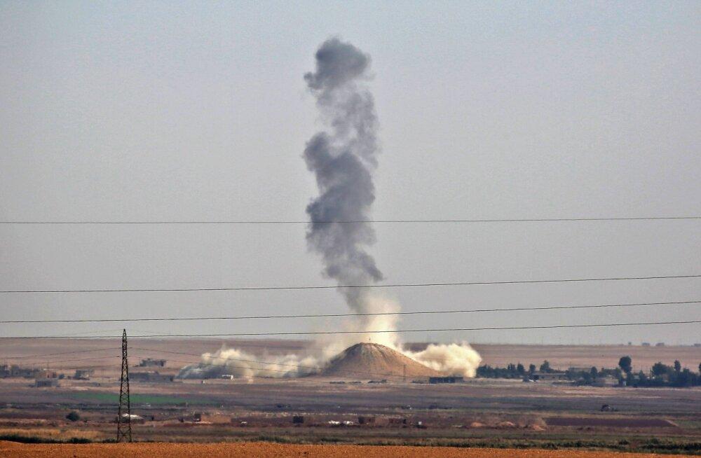 Pentagon: USA löögis Süüria valitsusvägede vastu hukkus kuni 100 Assadi toetajat