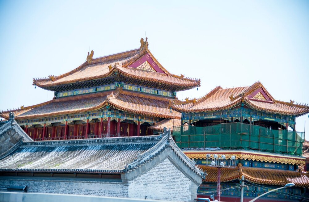 Pekingi olustikku augustis 2015