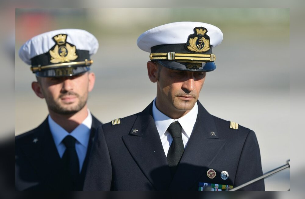 Kalurite tapmises süüdistatavad Itaalia merejalaväelased naasevad kohtupidamiseks Indiasse