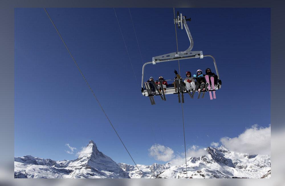 Alpi suusanõlvadel oodatakse jälle buumiaegset melu