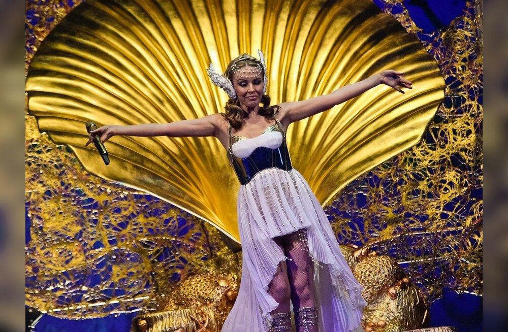 FOTOD: Kylie Minogue andis Helsingis täissaalile meeldejääva show!
