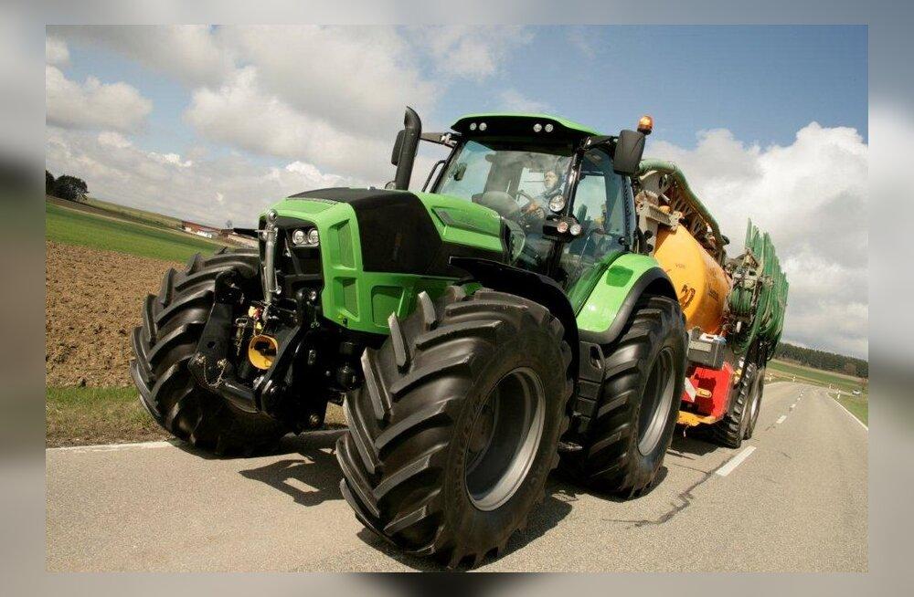 Aasta traktor: Saksa tehnika ja Itaalia disain – Deutz-Fahri 7-seeria