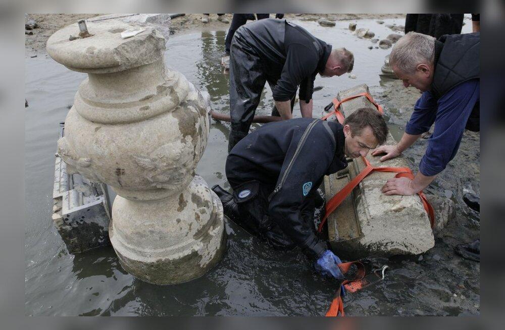 Madal veetase Wisła jões aitas leida 17. sajandil rootslaste Poolast röövitud aarded