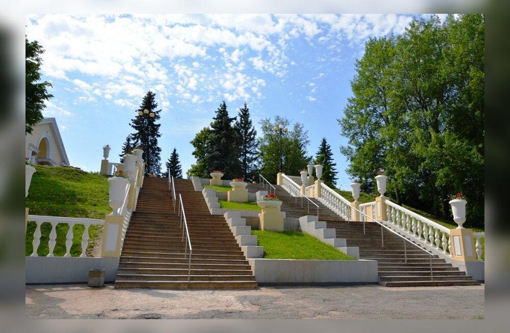 Kultuurikeskuse trepistik