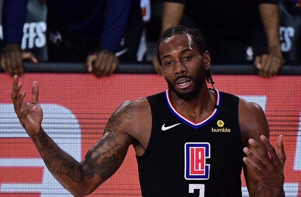 NBA parimate mängijate sekka kuuluv Kawhi Leonard tabas otsustavas mängus 22 viskest ainult kuus.
