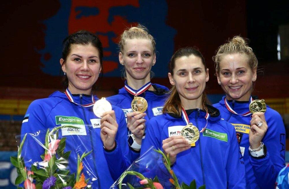 FOTOD | Eesti epeenaiskond võitis Havanna MK-etapi! Finaalis alistati ühe torkega Poola
