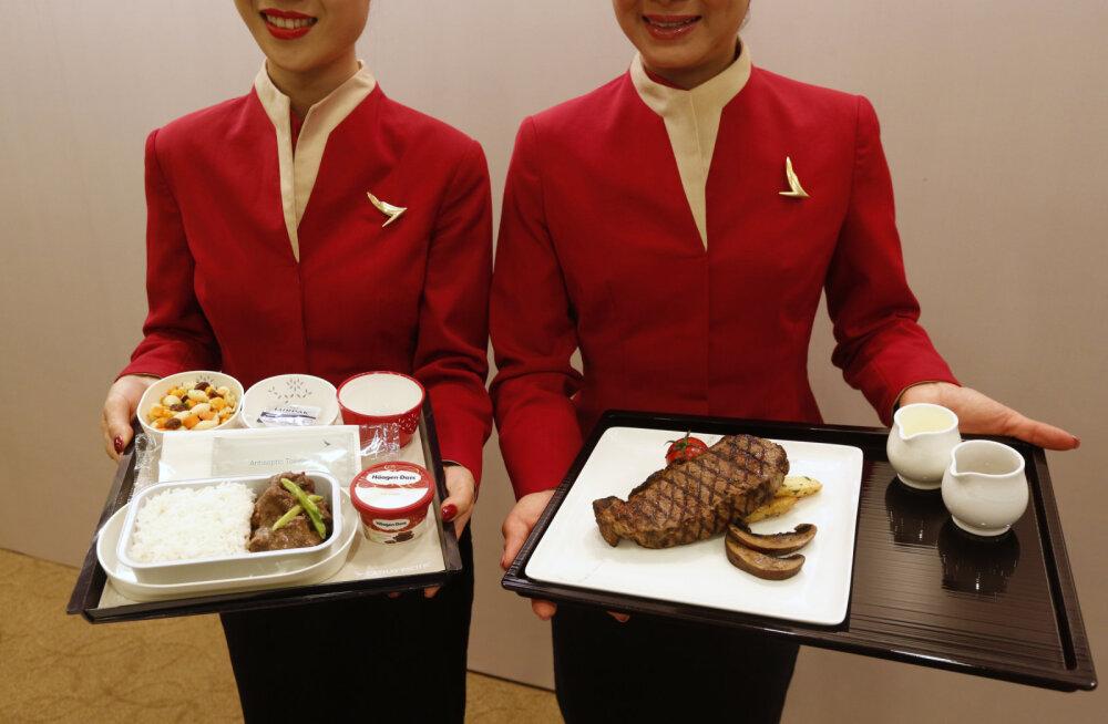 Специалисты выяснили, какие авиакомпании кормят вкуснее всего