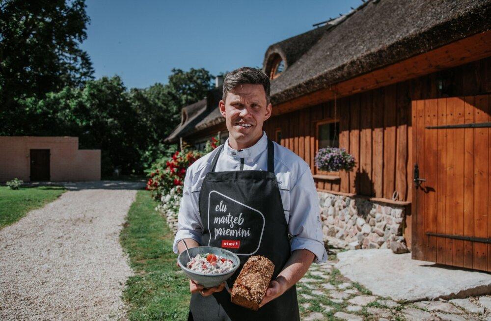 Повар Демо Каэв: удиви гостей салатом из круп и самодельным хлебом вместо гриль-мяса