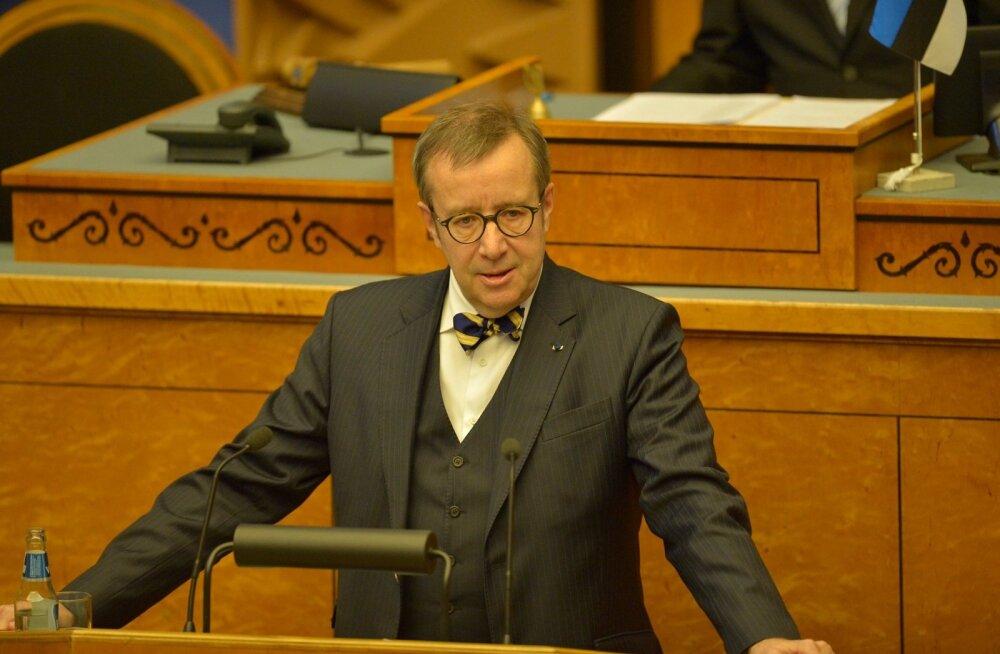 Toomas Hendrik Ilves riigikogus