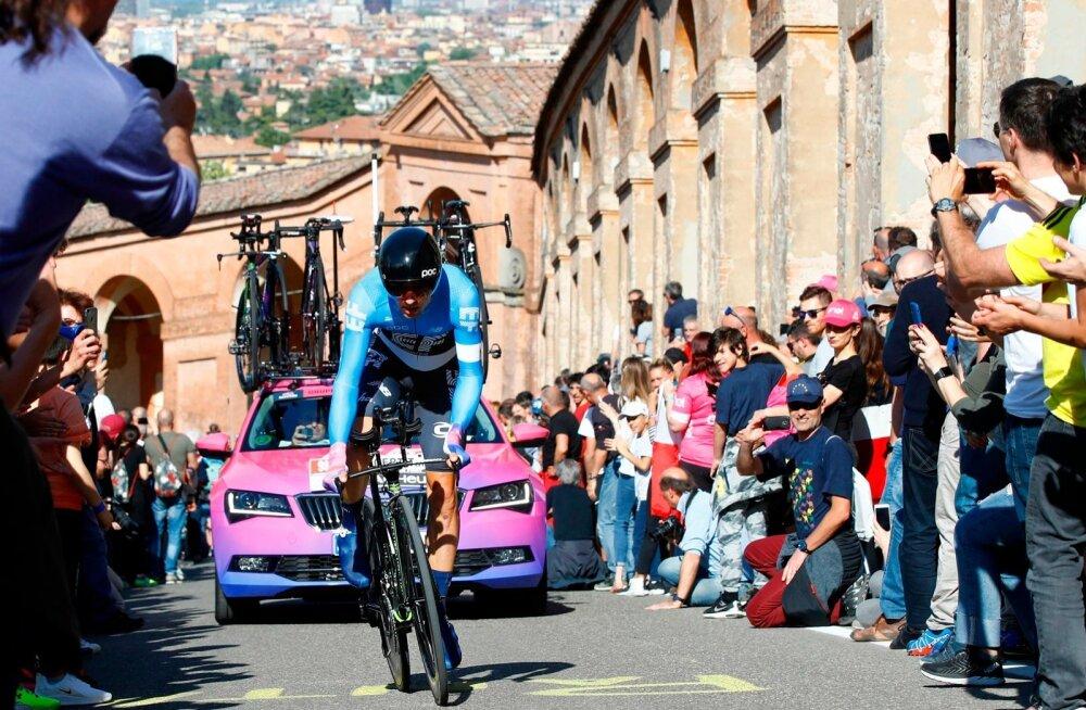 Tanel Kangert tänavusel Giro d'Italial.