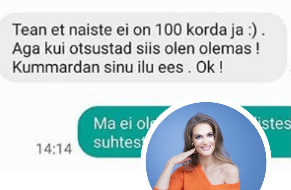 Seksipakkumised ja peenisepildid: mehed saadavad internetis Eesti tuntud naistele nilbeid sõnumeid