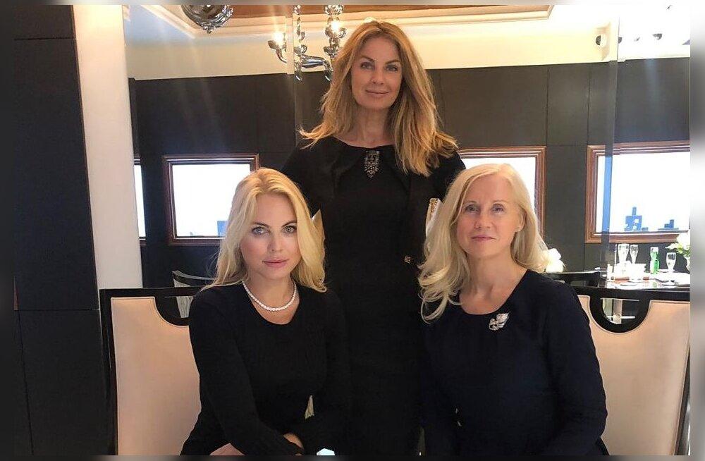 KLÕPS | Cathy Korju-Tullkvist, Kristiina Heinmets-Aigro ja Heli Mets ehtisid end 100 000-euroste juveelidega