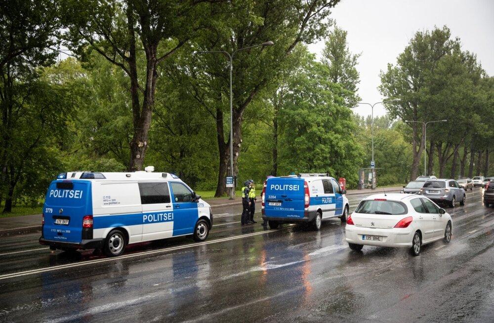 Õnnetus Narva maanteel Poska peatuse juures