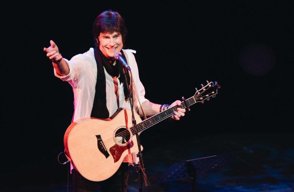 Vaprate ja ilusate Ronn Moss esines Tallinnas