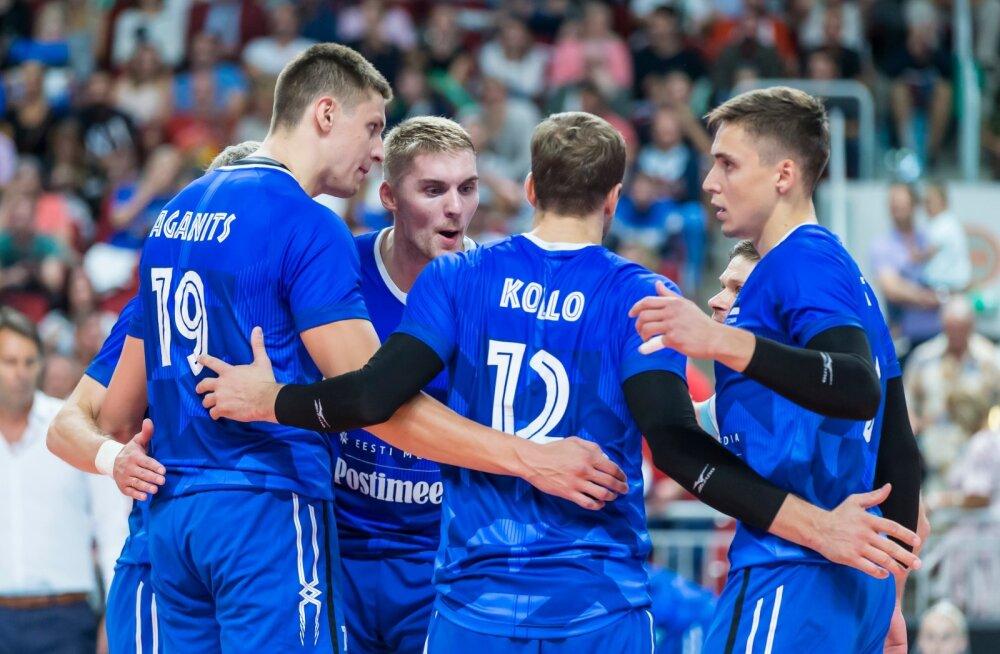 Andri Aganits (vasakul) läheb Kreekasse, Renee Teppanist (keskel) võib saada Tallinna Selveris Kristo Kollo meeskonnakaaslane.