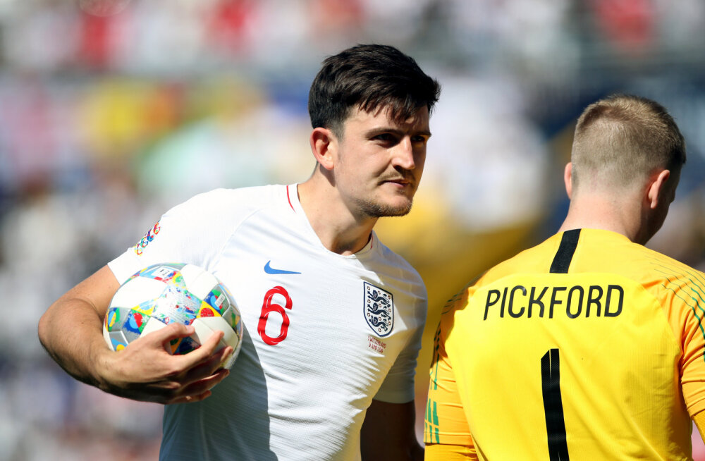 Harry Maguire ja Jordan Pickford