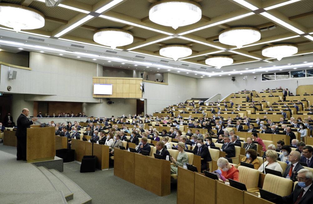 Riigiduuma võrdsustas osa Venemaa territooriumist võõrandamise ekstremismiga